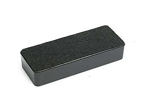 Губка магнитная для маркерных досок Deli 125 x 50 мм.