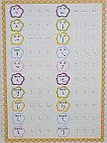 Рельефные прописи со специальной ручкой и запасными стержнями. Стиль Кайшу (нормативное письмо), фото 7