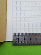 [Комплект 20 шт.] Тетрадь для написания иероглифов. Клетка 7 мм с полем для пиньинь. 6272 клетки