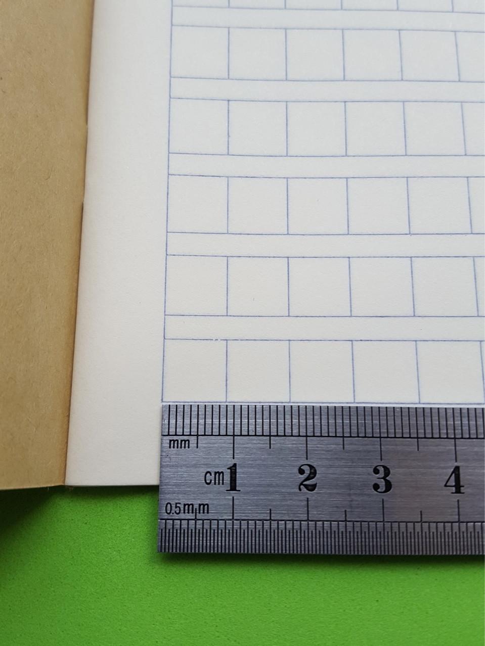 [Комплект 20 шт.] Тетрадь для написания иероглифов. Клетка 9 мм с полем для пиньинь. 4732 клетки
