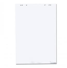 Бумага для флипчартов, 67,5х98 см, 50 листов, белая 92%