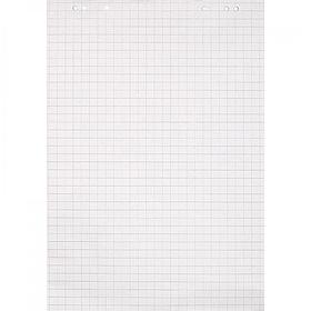 Бумага для флипчартов, 67,5х98 см, 50 листов, клетка