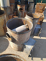 Печь банная круглая 520 усиленная