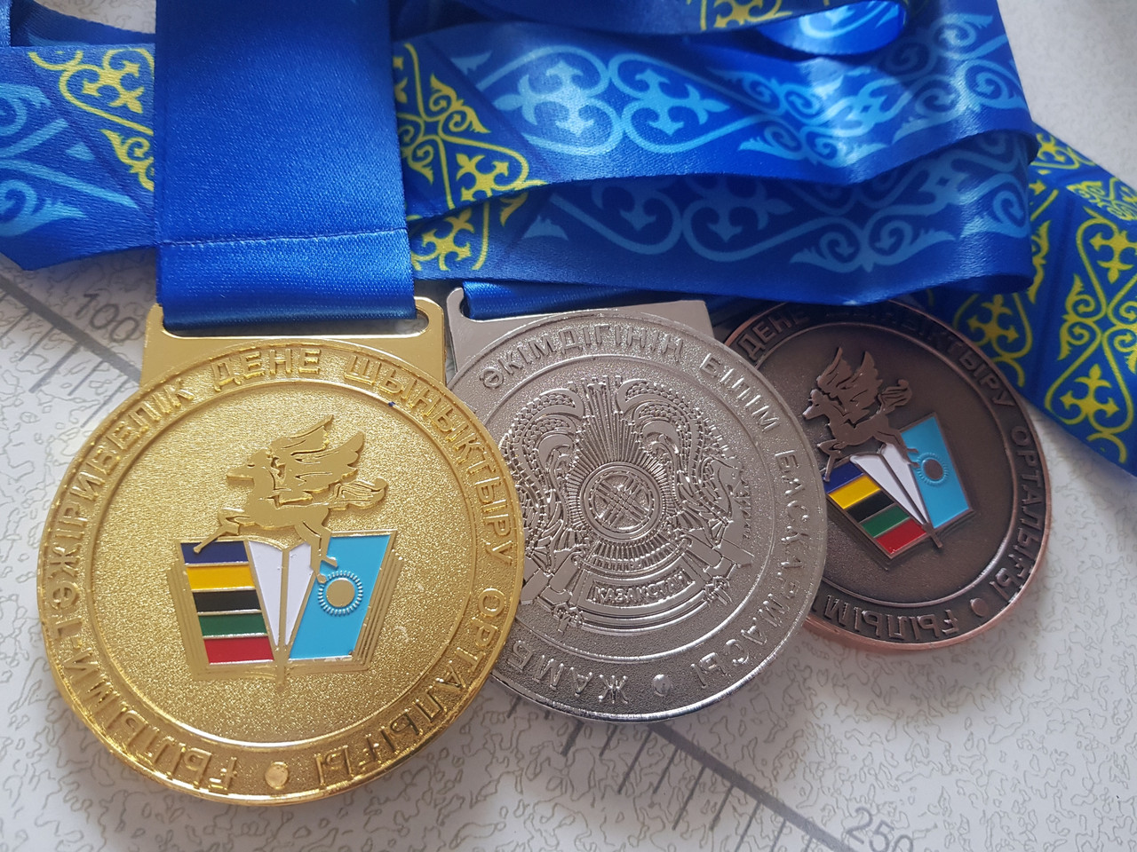 Медаль ЖАМБЫЛ ОБЛЫСЫ, есть в наличии - фото 3