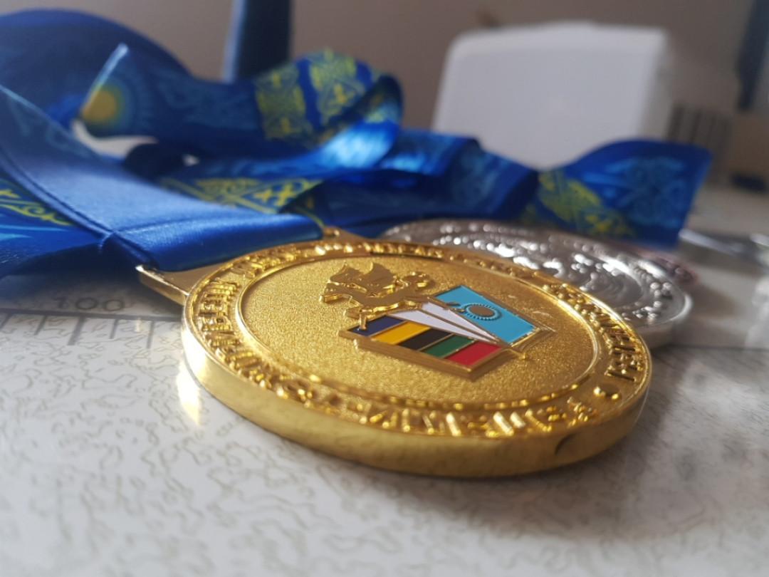 Медаль ЖАМБЫЛ ОБЛЫСЫ, есть в наличии - фото 2