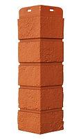 Угол наружный Терракотовый, Состаренный кирпич,серия Стандарт (моноцвет) 417 мм Grand Line