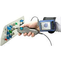 Видеомикроскоп цифровой для проверки оптического волокна с дисплеем