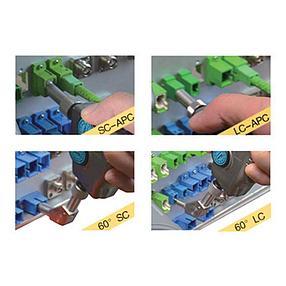 Видеомикроскоп цифровой для проверки оптического волокна с дисплеем, фото 2