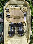 Набор для пикника на 4 персоны в рюкзаке, фото 5