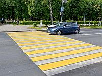 Нанесение дорожной разметки паркинги, ТРЦ, пешеходные переходы, АЗС, велодорожки, фото 1