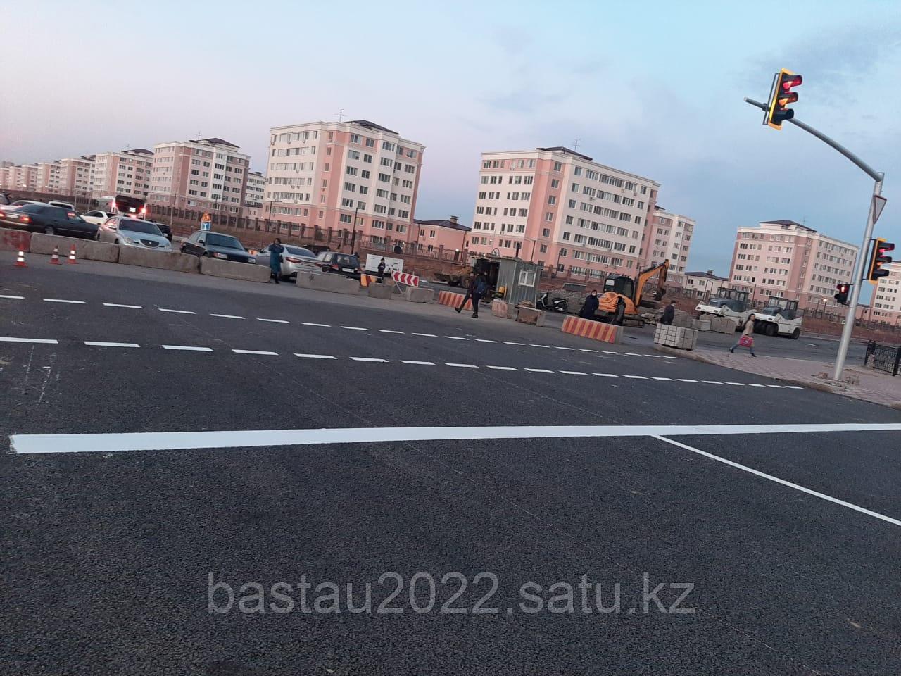 Нанесение дорожной разметки холодным пластиком в городах Нур-Султан, Алматы, Шымкент