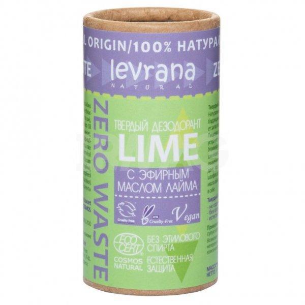 Твердый дезодорант «Лайм» Levrana