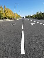 Нанесение дорожной разметки термопластиком на дорогах республиканского и областного значения, городах, фото 1