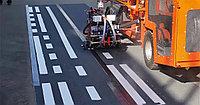 Разметка дорог и парковок краской и холодным пластиком, фото 1