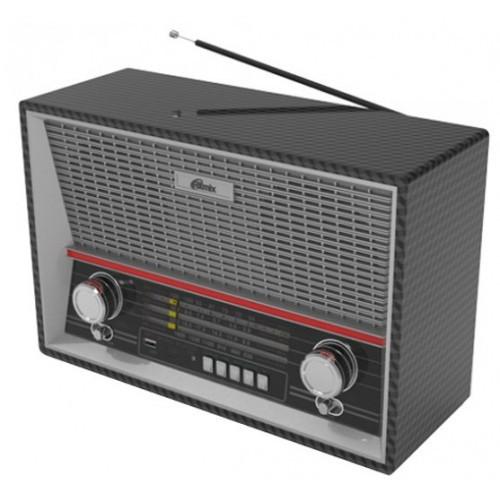 Радиоприемник портативный Ritmix RPR-102 BLACK