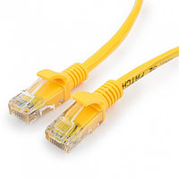 Патч-корд UTP Cablexpert PP12-20M/Y кат.5e, 20м, литой, многожильный (жёлтый)
