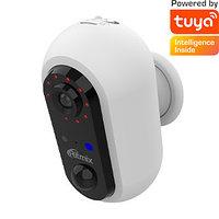 Видеокамера аккумуляторная Ritmix IPC-240B Tuya белый