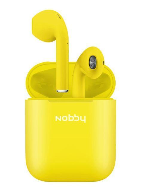 Гарнитура беспроводная Nobby Practic T-101 желтый