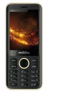 Мобильный телефон Nobby 321 черно-золотой