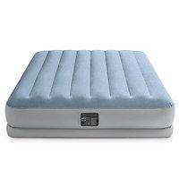 """Надувная кровать """"Raised Comfort"""" с подголовником и со встроенным насосом, Intex 64168"""