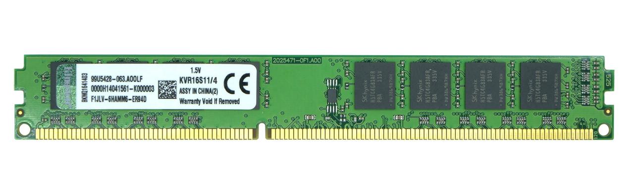 Оперативная память DIMM DDR3 4GB Kingston KVR16N11/4