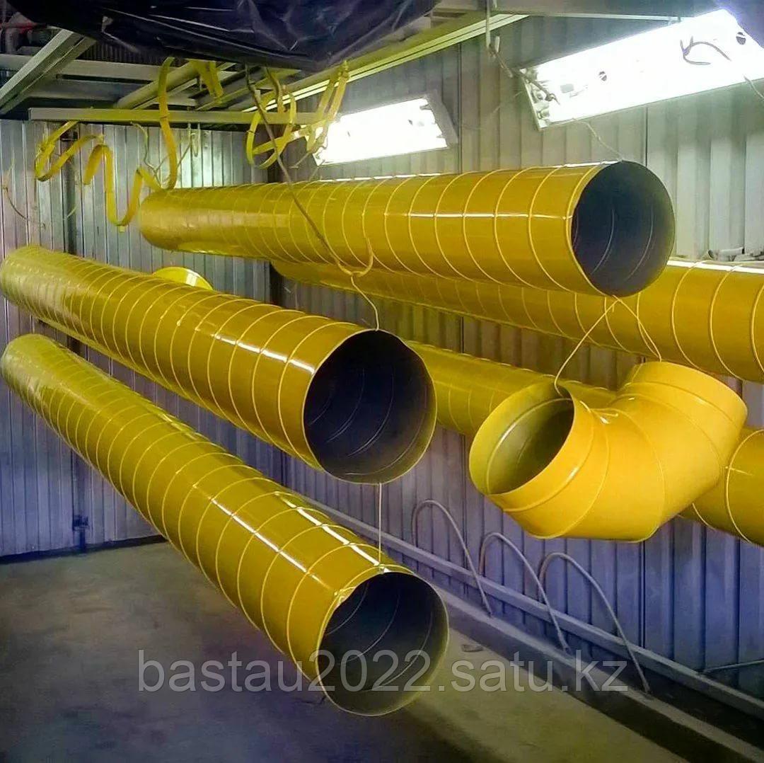 Порошковая покраска металлоизделии в сжатые сроки ( 2 печи по 6,5 метров)