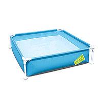 Каркасный бассейн квадратный детский BESTWAY