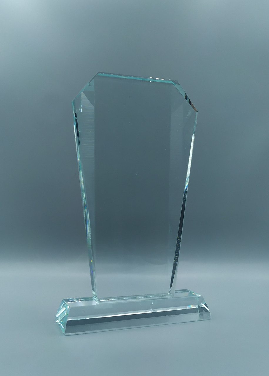 Награда из стекла, размер - 175х100х15мм