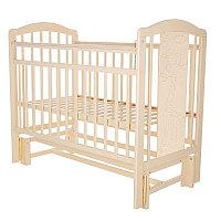 PITUSO Кровать детская NOLI МИШУТКА маятник универсальный с накладкой Слон.кость