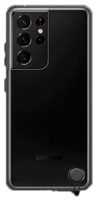 Чехол для Samsung Galaxy S21 Ultra Clear Protective Cover EF-GG998CBEGRU, black - фото 2