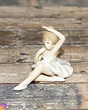 Декоративная статуэтка/фигурка. Материал: Керамика. Цвет: Белый.