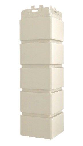 Угол наружный Молочный, Клинкерный кирпич,серия Стандарт (моноцвет) 417 мм Grand Line