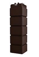 Угол наружный Коричневый, Клинкерный кирпич,серия Стандарт (моноцвет) 417 мм Grand Line