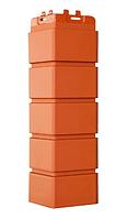 Угол наружный Терракотовый, Клинкерный кирпич,серия Стандарт (моноцвет) 417 мм Grand Line