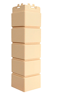 Угол наружный Бежевый, Клинкерный кирпич,серия Стандарт (моноцвет) 417 мм Grand Line