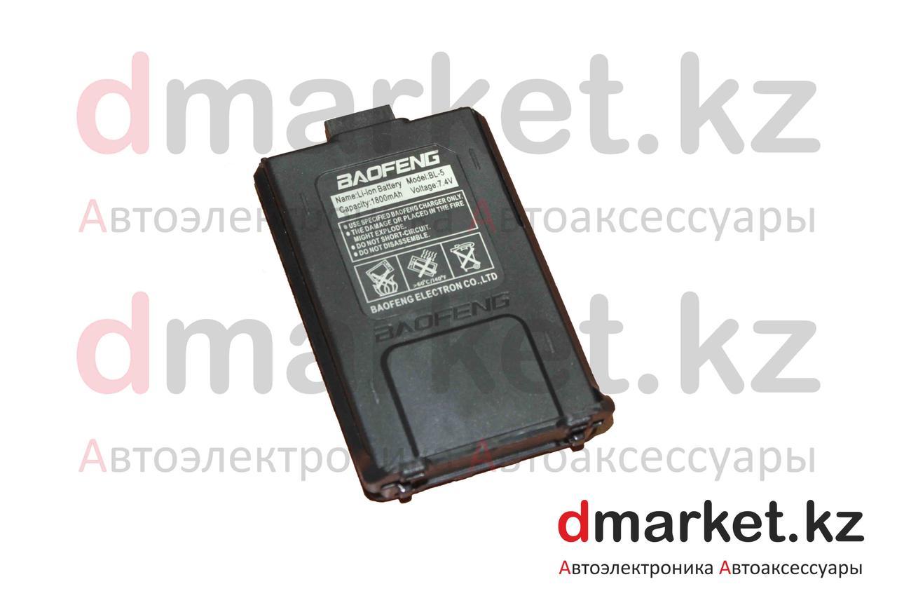 Аккумулятор BL-5, 1800 мАч, 7.4 В, Li-ion (литий-ионные), для Kenwood TK-F8 и Baofeng UV-5R