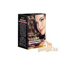 Каштановая хна для волос (Chestnut henna AYUSRI), 6 пакетиков по 10 грамм
