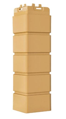 Угол наружный Песочный, Клинкерный кирпич,серия Стандарт (моноцвет) 417 мм Grand Line