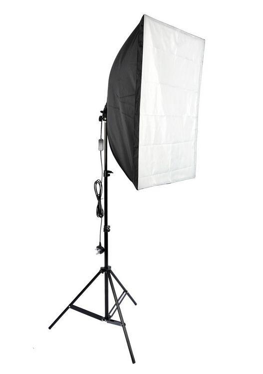 Студийный софтбокс 40 × 60 см с патроном на 1 лампу
