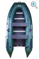 Лодка Инзер-2(330) V ЦС+киль зел.