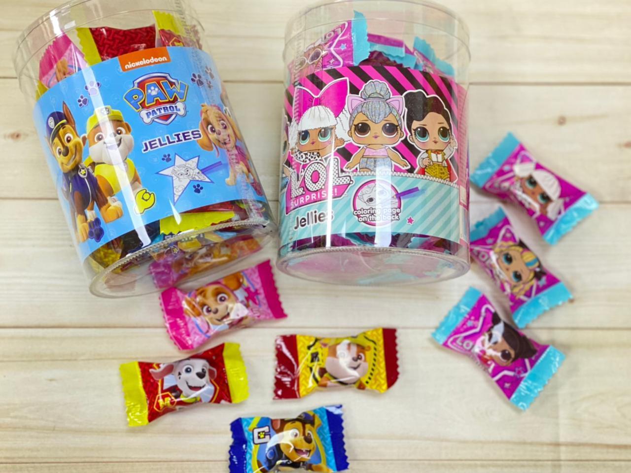 Набор сладостей мармелад мультгерои LOL щенячий патруль