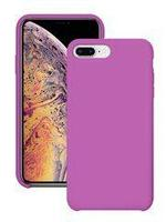 Чехол на телефон Лавандовый Silicone Case iPhone 7+/8+