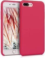 Чехол на телефон Фуксия Silicone Case iPhone 7+/8+