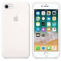 Чехол на телефон Белый Silicone Case iPhone 7/8