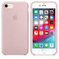 Чехол на телефон Розовый Silicone Case iPhone 7/8