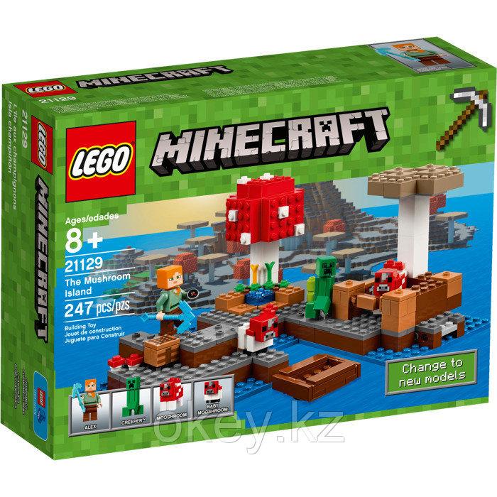 LEGO Minecraft: Грибной остров 21129