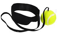 Тренажер на голову для бокса Fight ball на резинке
