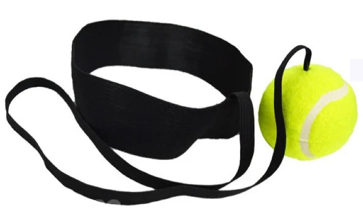 Тренажер на голову для бокса Fight ball на резинке - фото 1