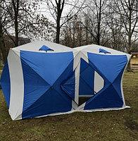 Палатка куб для зимней рыбалки 1621 двойная