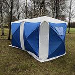 Палатка куб для зимней рыбалки 1621 двойная, фото 2
